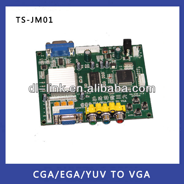 Hot sales! HD9800 RGB TO VGA/CGA TO VGA Converter Board-Video Board for arcade game machine