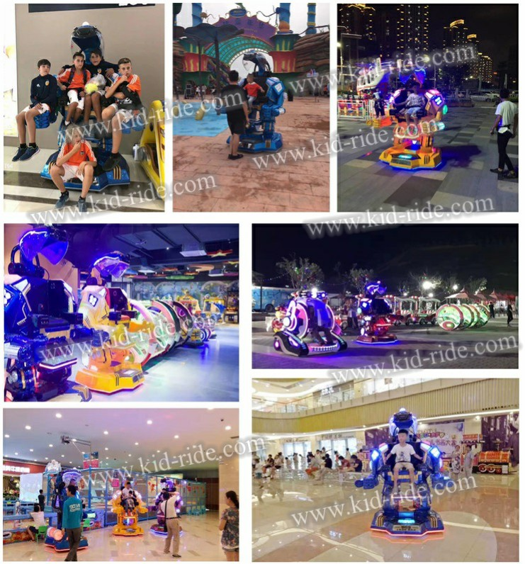 2019 Guangzhou Factory High quality  Remote Control Amusement Ride Kids Robot for Sale