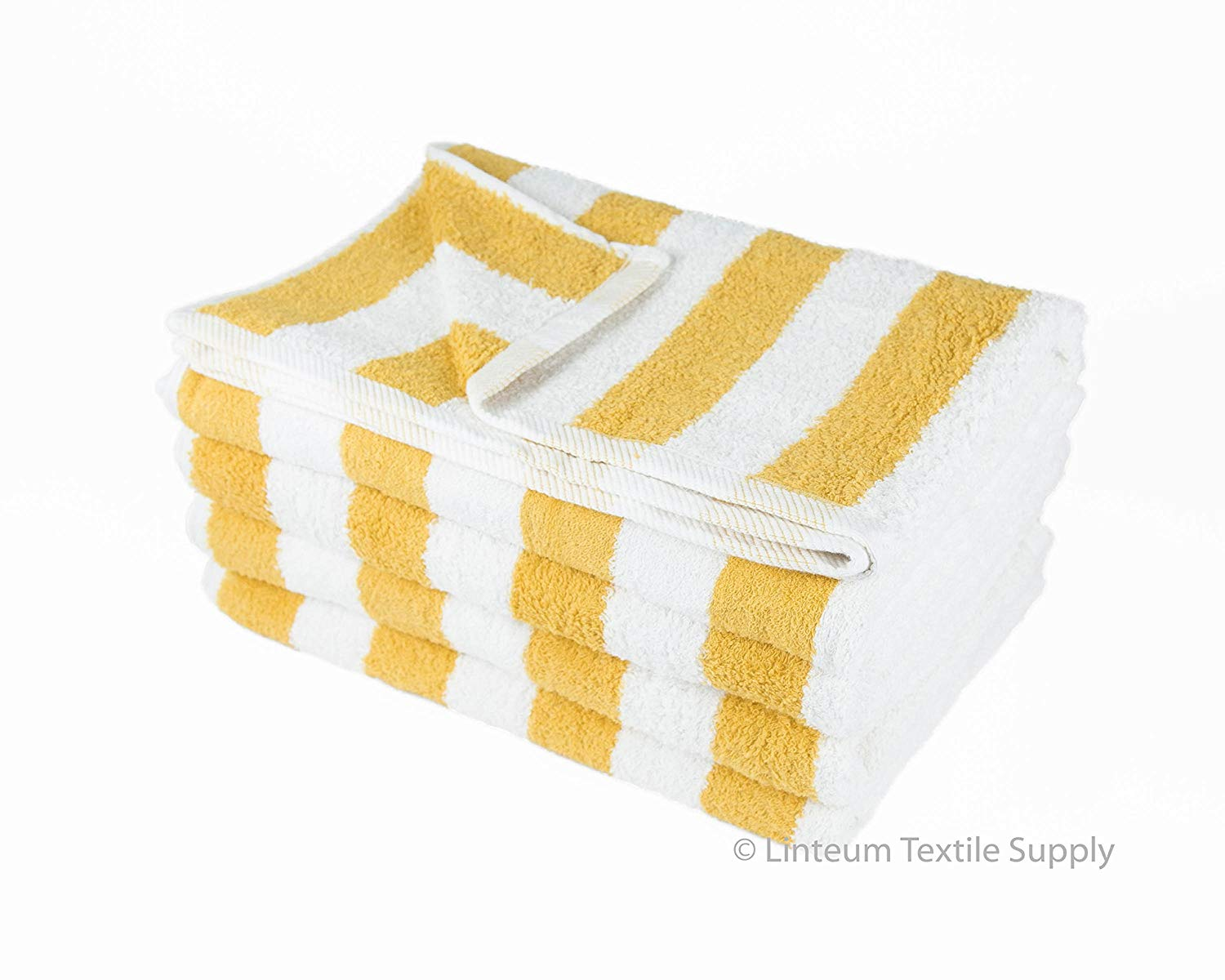 Surprising Buy A564 Gold And White Ticking Stripes Cotton Heavy Duty Bralicious Painted Fabric Chair Ideas Braliciousco
