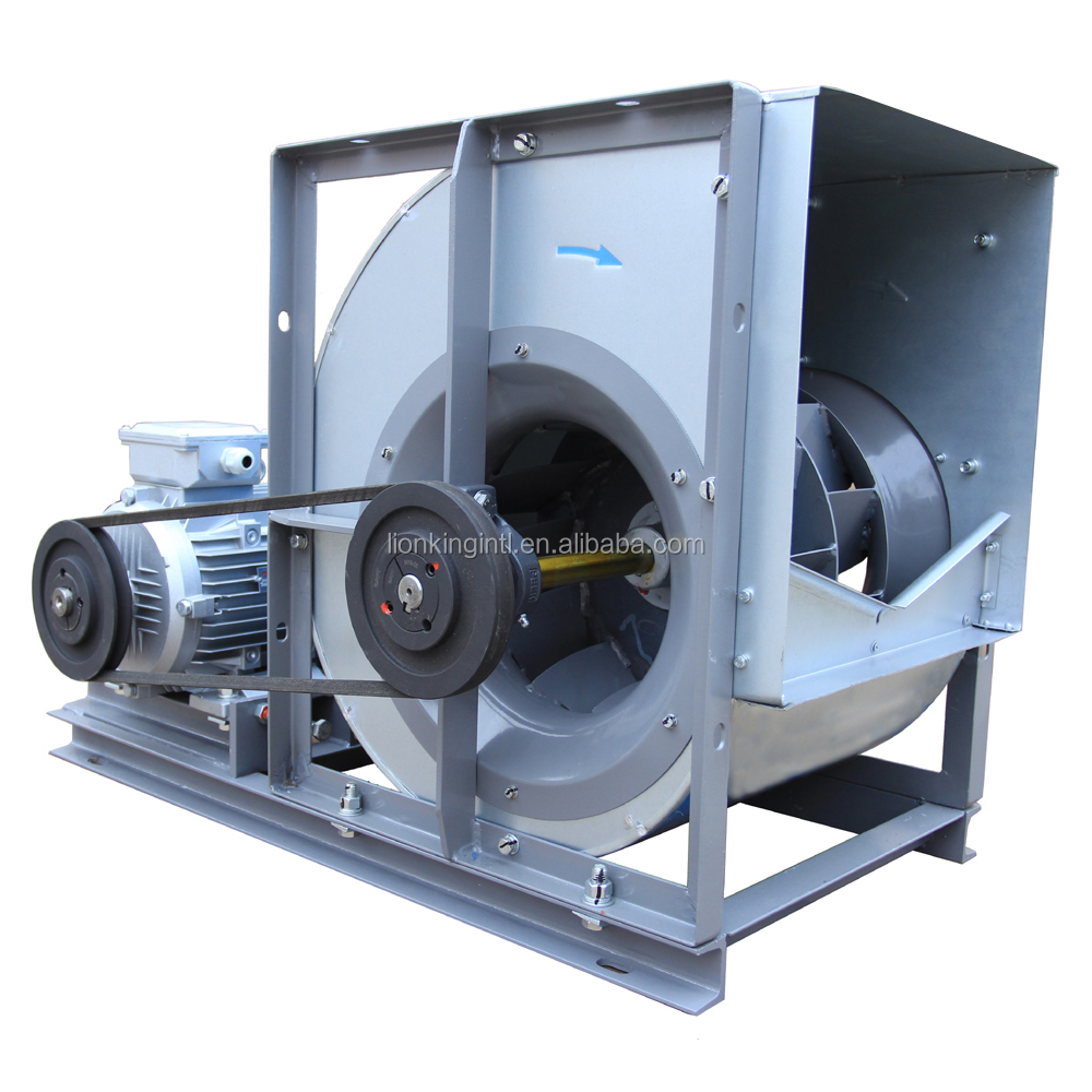 Commercial Large Belt Driven Backward Centrifugal Fan For Central Air Conditioner Purifier
