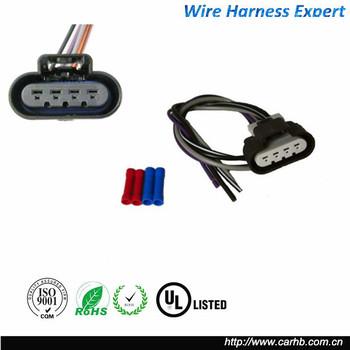 new napa 888543 - 888-543 new fuel pump 4-way female wiring harness