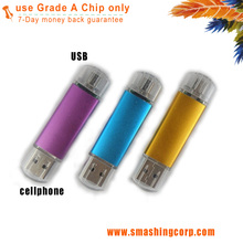 Dual Usb 3.0 Flash Memory Drive For Computer And Smartphone 32gb Usb3.0 Otg Usb Flash Drive