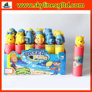Dia5*20H(cm) Cute Animal Head EPE Water Gun