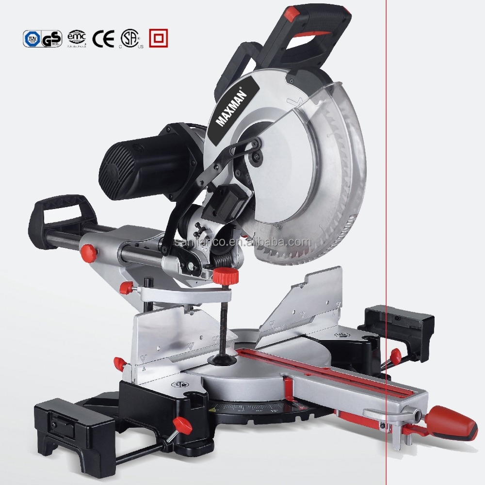 930511F 1600W 15A 305mm double-bevel sliding miter saw