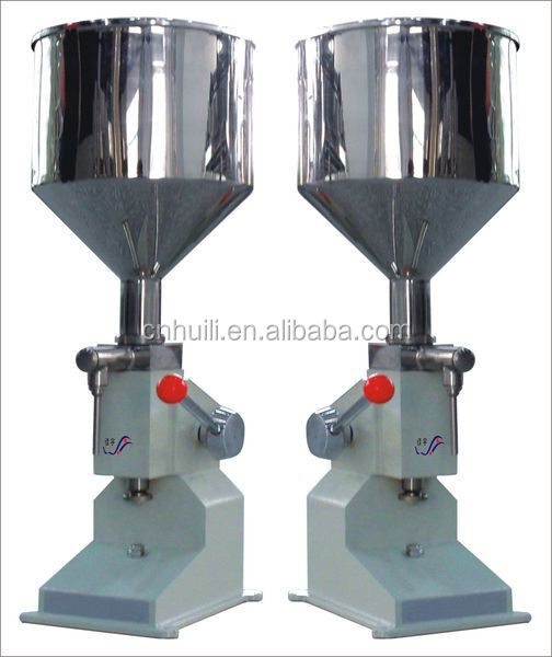A03 Manual bottle filling machine for shampoo,cream, gel, lotion