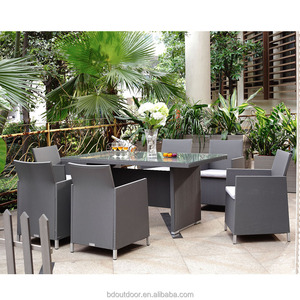 Outdoor Chairs Restaurant/ Balcony Table/ Dining Garden Furniture Set