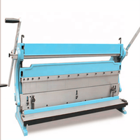 "SHEAR-BRAKE-ROLL 3 IN 1 16 Gauge 52"" STEEL Sheet Metal Machine Shear Brake and Roll Combination Machine"