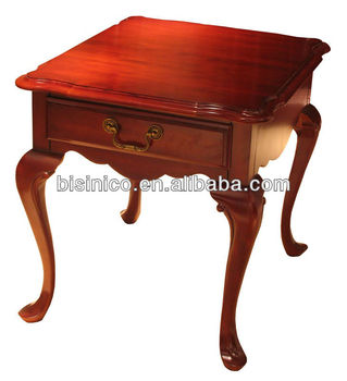 Queen Anne Series Living Room Furnitureside Tableend TableRococo - Rococo side table