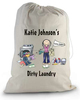 Excellent quality stylish folding hanging laundry bag