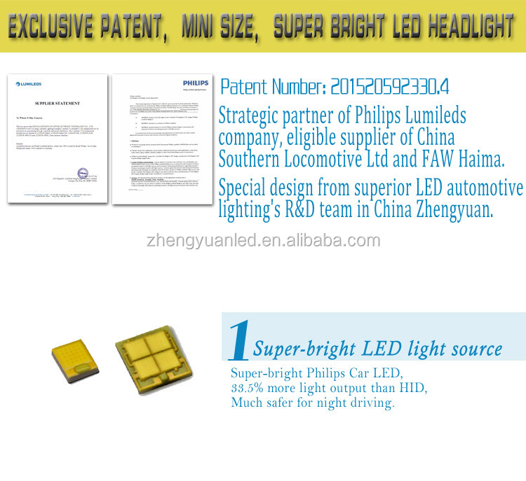 H11/ H8 New Phi Lips Lumi Leds Luxeon Mz High Power 55w 5200lm ...