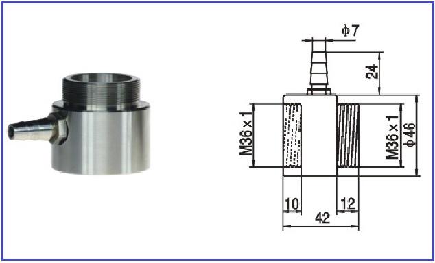 GNB211 Non-contact online infrared thermometer sensor 4-20ma Infrared temperature sensor 0-1200 degrees - KingCare | KingCare.net
