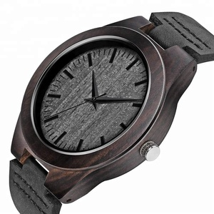 2018 Classic Design Quartz Casual Men Dress Watch box wood Custom Watch Brand Logo Dropshipping wood box