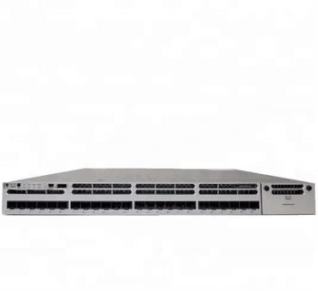 Catalyst 3850 24 Sfp Ports Layer 3 Managed Network Switch Ws-c3850-24s-s -  Buy 3850 24 Port Ge Sfp Ip Base Gigabit Ethernet Catalyst