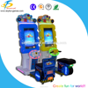 Intelligent single/double super speed players car racing game machine
