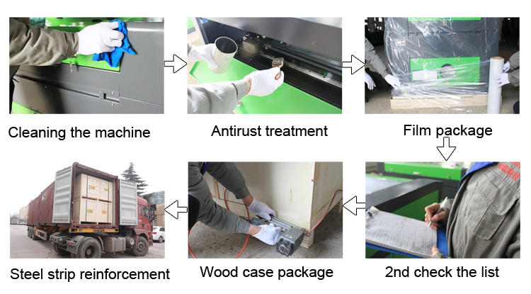 Advanced 150W Wood Acrylic Metal CO2 Laser Cutting Machine Price