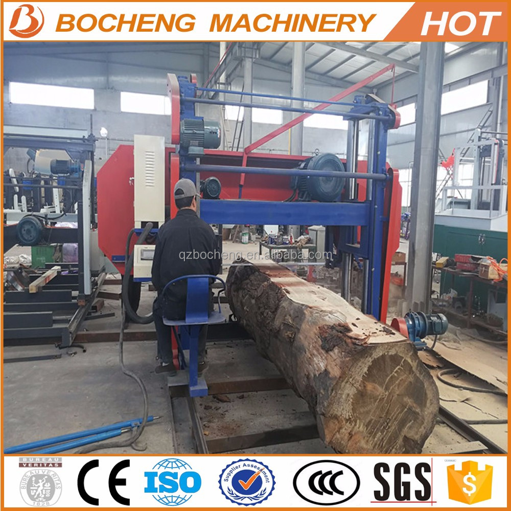 Large Oversize Logs Cutting Machine Horizontal Band Saw Mills For Sale -  Buy Large Band Saw For Sale,Logo Cutting Bandsaw,Band Saw Mill Product on