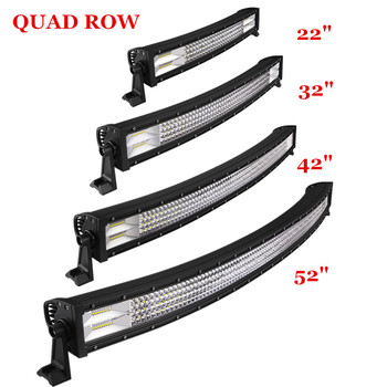 Super bright car roof top offroad light led bar 50 combo beam 4 row super bright car roof top offroad light led bar 50quot combo beam 4 row led aloadofball Gallery