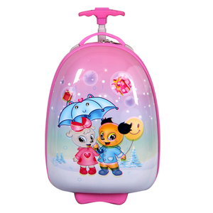 16 Inch Egg Shaped Light Weight Girl Students Eminent Trolley Luggage