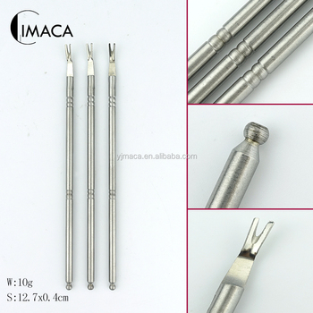 Stainless Steel Beauty Salon Finger Nail Care Tools Dead Skin Cuticle Pusher