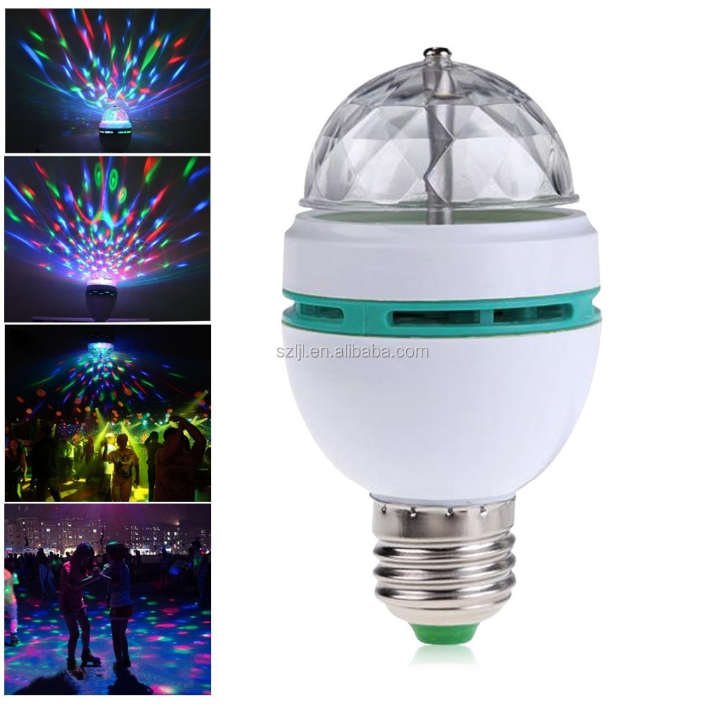 3W RGB Led Moving Head rotating led stage lighting Magic Disco Ball Light with CE ROHS