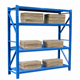 Corrosion protection supermarket shelving for sale,angle iron shelving,refrigerator display shelving