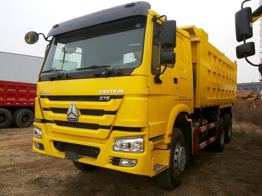 China Suppliers Howo 6 Wheel 20 Ton Tipper Truck Dump