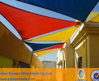 Custom cloth stage decoration shade sail for sale