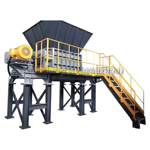Dubai Plastic Recycle Crushing Plastic Scrap Crusher Plastic Mobile Waste  Shredder Machine Malaysia
