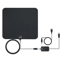 High Quality View TV Flat HD Digital Indoor Amplified film TV Antenna