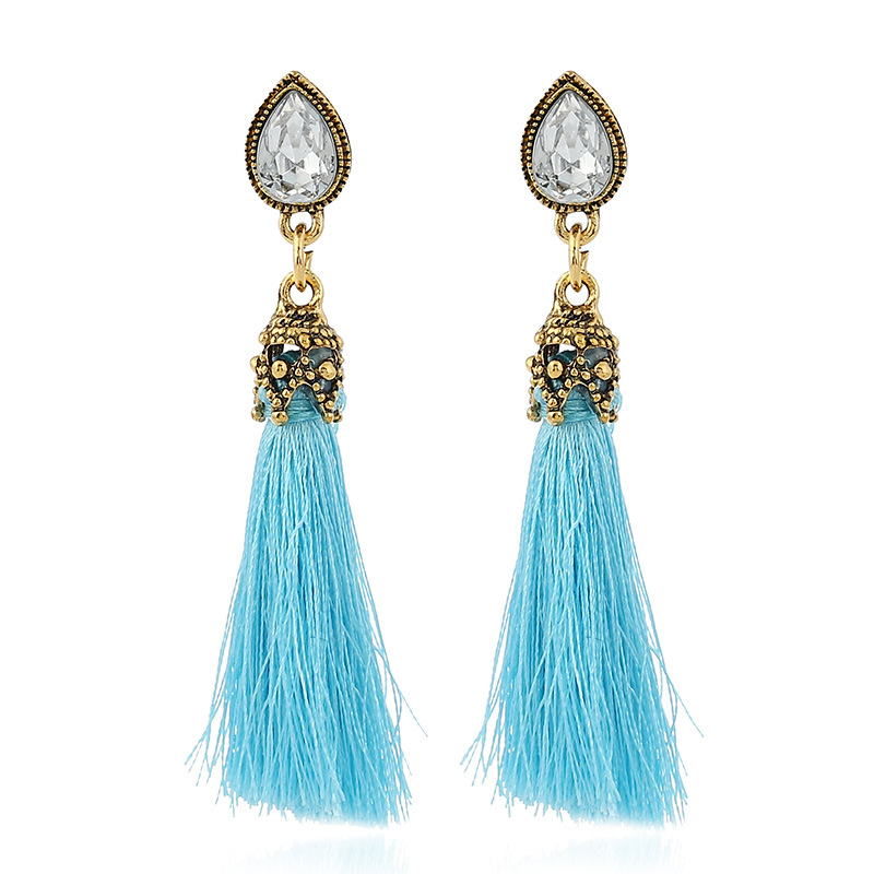Fashion Silk Thread Earrings Price Silk Thread Jewellery ...