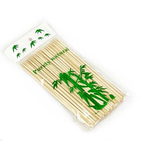 Small Dried Round Bbq Natural Thin Bamboo Stick - Buy ...