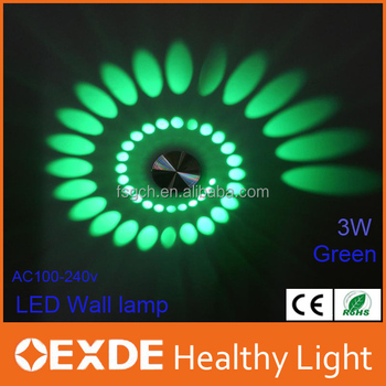Modern Led Wall Lamp 3w Ac85-265v Fashion Home Decoration Indoor ...