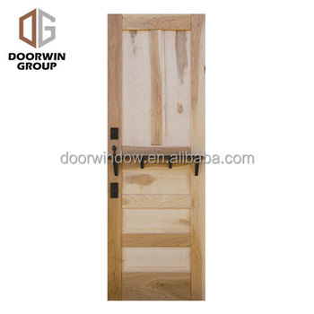 America Oem Solid Wood Interior Doors Knotty Alder Pine Larch Cherry