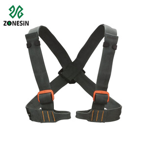 High Quality Custom Half Body Safety Harness Parts Name Double Hook