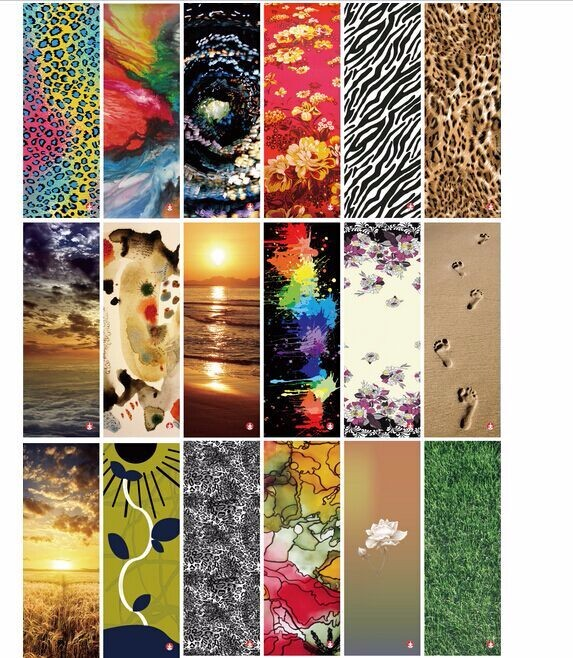 2016 Custom Printed Yoga Mat Manufacturer