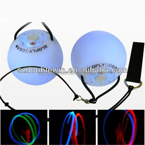 8cm Led pvc toy ball poi, fire poi for dance costume