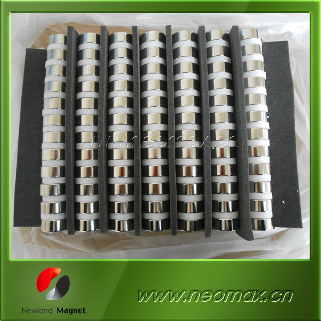Industries permanent cylinder magnet