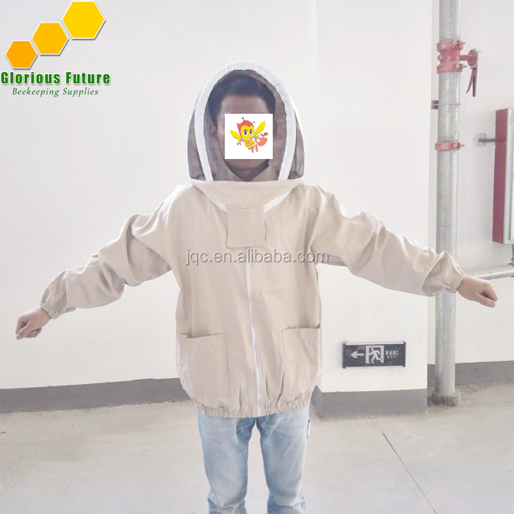 2018 bee farming safety cotton suit factory directly supplies bee protective clothing beekeeping jacket