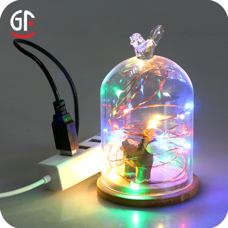 Simple Electronics Decoration Decoration Lighting 5V 33FT 100 LEDs Remote Christmas Decoration Light