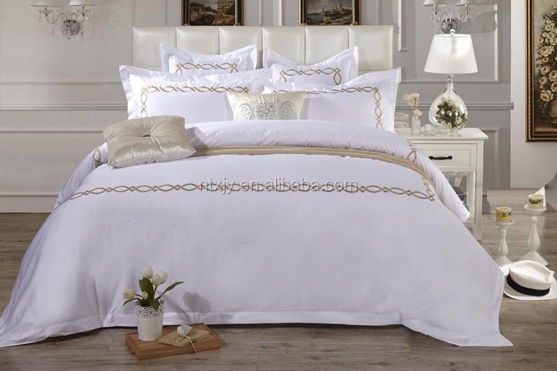drap de lit d 39 h tel de luxe satin drap de lit planches id de produit 669204324