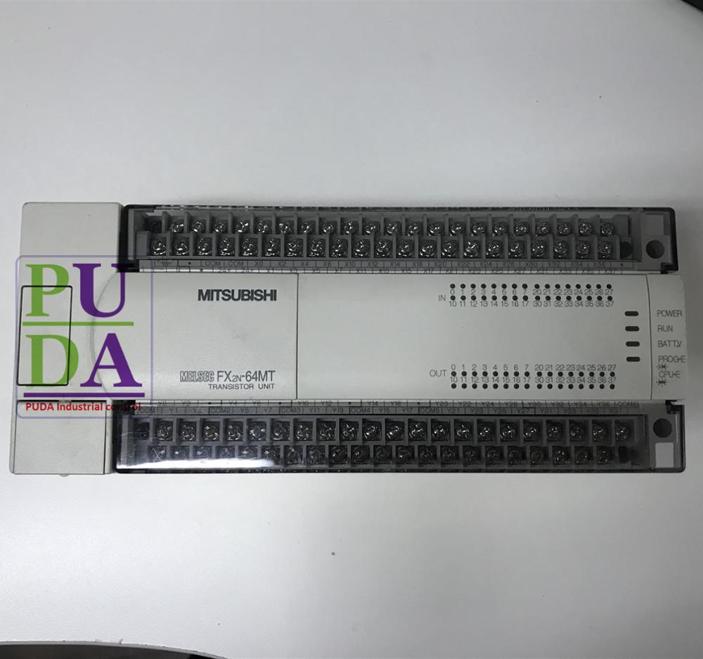 spot goods free shipping for New original MITSUBISHI fx Series new PLC FX2N-64MT-001 low price warranty 1.5 years low price