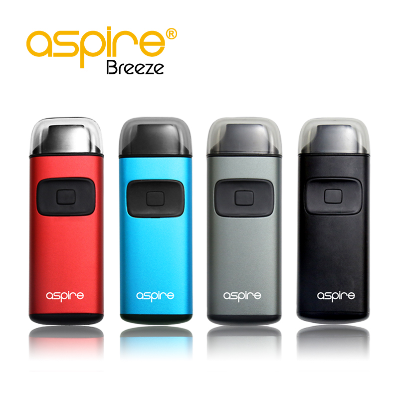 New Arrival 650mAh Breeze Kit! Wholesale Aspire Breeze Kit With 2ml TPD Aspire Breeze