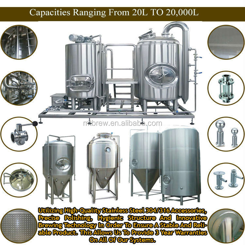 Brewery Equipment 300l Microbrewery Used Brewery Equipment