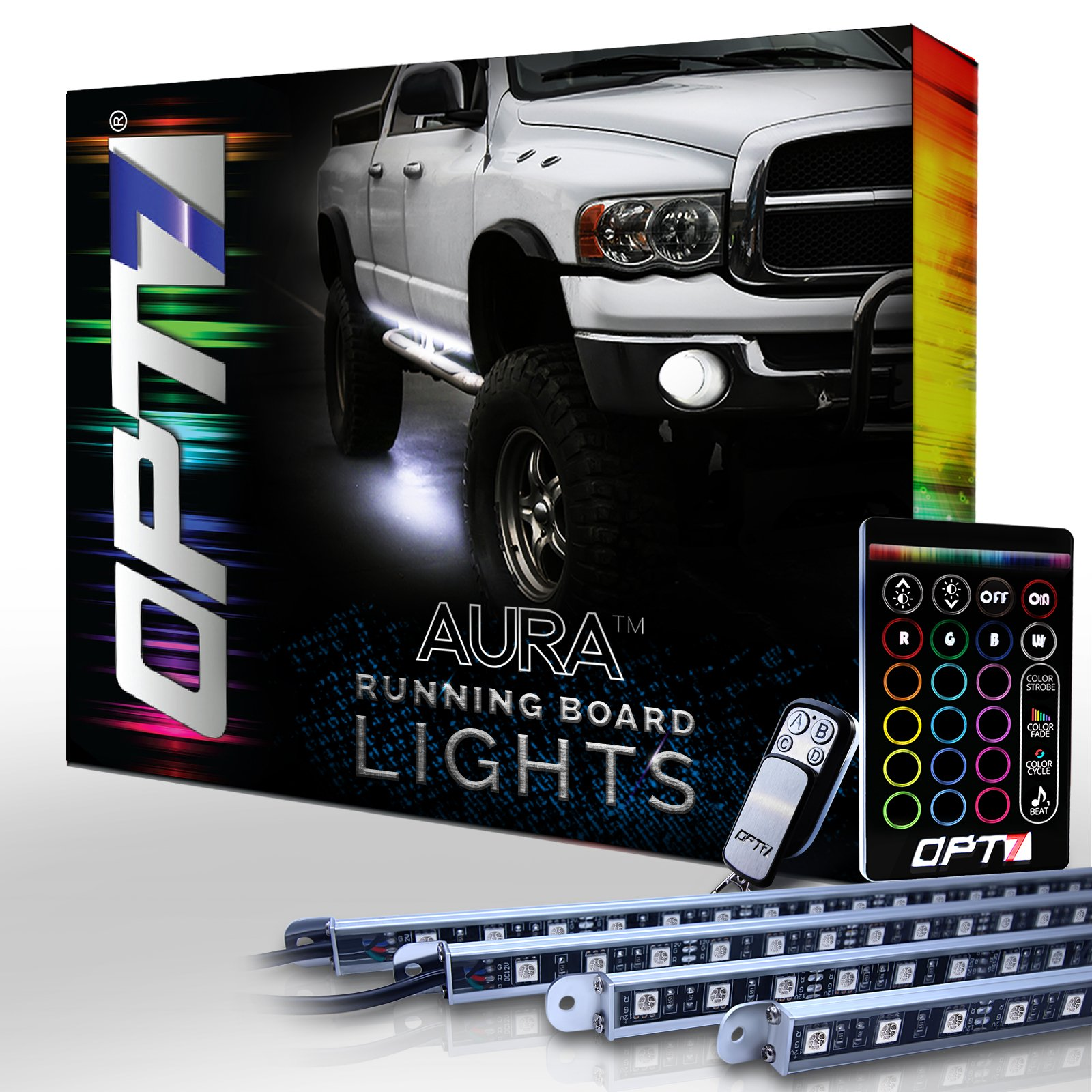Cheap Running Board Light Kit Find Deals On Westin Led Wiring Harness Get Quotations Aura Nerf Lights By Opt7 Lighting Side Bar Step For