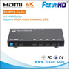 HDMI Audio Extractor Splitter HDMI to HDMI + SPDIF RCA Stereo L/R Audio Output Digital to Analog Audio De-embedder Sound Convert