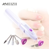 AMEIZII 5Bits/Set Nail Art File Electric Manicure Set Nail File Drill Pen For Nails Care