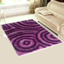 Good flatness china polyester shaggy floor carpet and roll