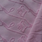 new organic cotton or bci cotton star jacquard terry towell weft knitting fabric used for baby wear