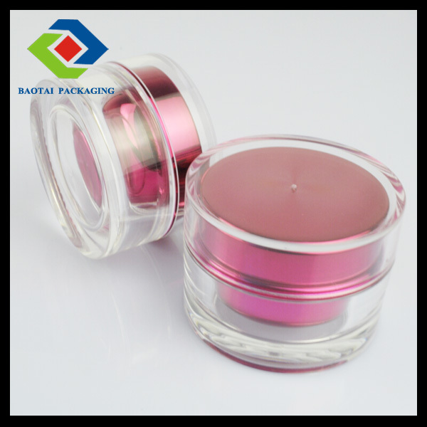 20ml recyled cosmetic packaging wholesale,pink cute jar for skin care,nail art