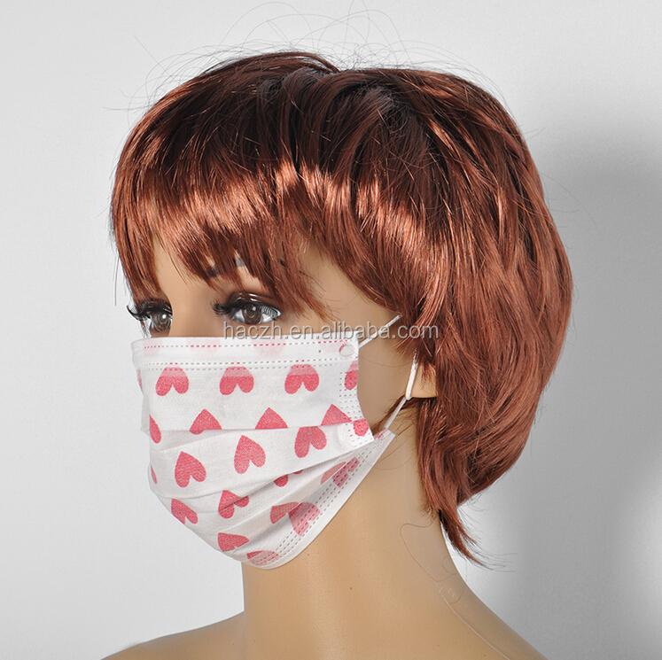 Cartoon Printing Disposable Surgical Mask Mask Custom - face Medical With 2015 Buy Printed News Face